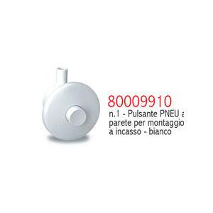 9910 PULSANTE PNEUMATICO INCASSO A PARETE BIANCO PUCCI