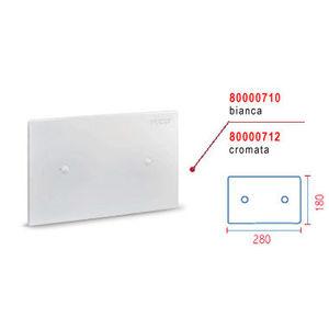 0710 PLACCA CIECA BIANCA (cm 28x18) PER CASSETTA mod. SARA PNEUMATICA