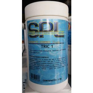 TRIC 1 TRICLORO IN PASTIGLIE da g 200, confezione da kg 1