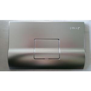 0619 PLACCA QUADRA SATINATA (cm 28x18) COMPLETA DI TELAIO PER CASSETTA mod. SARA PUCCI (DISPONIBILITA' LIMITATA)