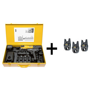 PACK PRESSATRICE ELETTROIDRAULICA A BATTERIA LI-ION REMS MINI-PRESS ACC + PINZE V18, V22 e V28