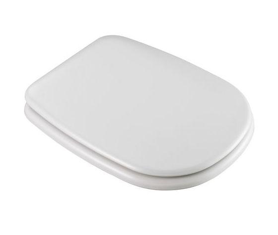 Sedile Wc Ideal Standard Serie Tesi.Sedile Pesante Per Wc Modello Tesi Classic I S Colore Bianco Europeo Bagno Idraulica Shop