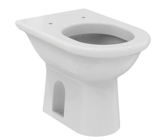 Wc ideal standard esedra scarico a pavimento colore bianco europeo bagno idraulica shop - Bagno idraulica shop ...