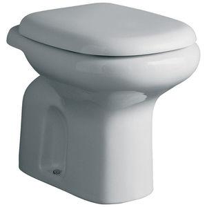 WC Ideal Standard TESI CLASSIC SCARICO A PAVIMENTO colore BIANCO EUROPEO senza SEDILE