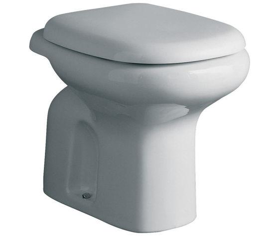 Sedile Water Ideal Standard Tesi.Wc Ideal Standard Tesi Classic Scarico A Pavimento Colore Bianco