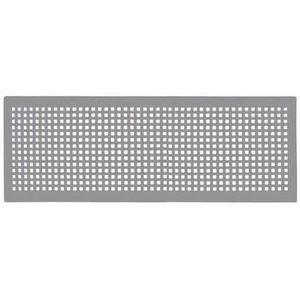 GRIGLIA Design ZEHNDER modello TORINO (430x160mm) INOX