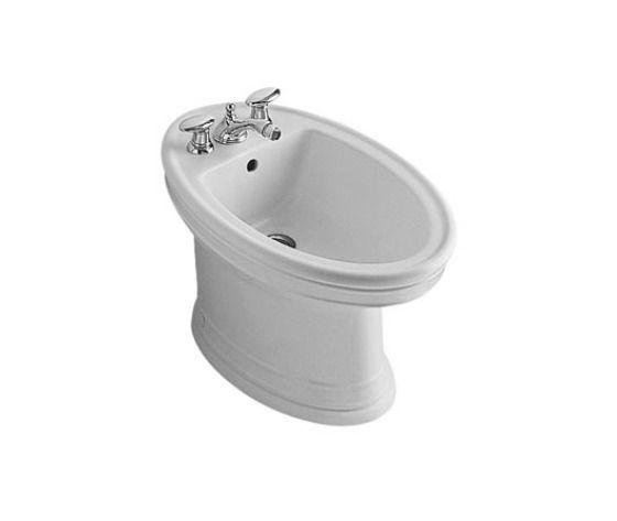 Bidet mod amadea bianco ceramicplus per rubinetteria a 3 fori bagno idraulica shop - Bagno idraulica shop ...