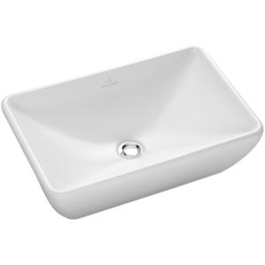 Lavabo da appoggio Loop & Friends 580x380 mm Bianco Alpin CeramicPlus