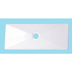 Placca Bianca vecchio modello per Cassetta Incasso Stir Blitz mod. 12 PHD
