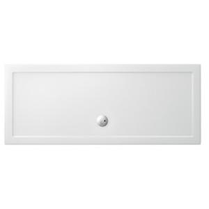Piatto doccia 1600x700 mm in acrilico rinforzato Clear Gold h35 mm bianco