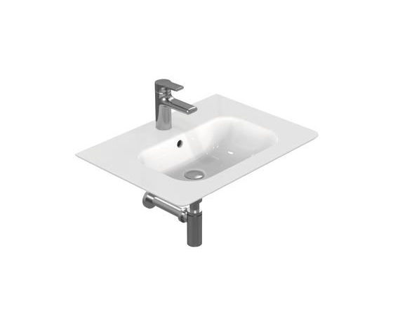 Rubinetteria Active Ideal Standard.Lavabo Top 64x46 Active Ideal Standard Colore Bianco Europeo Bagno
