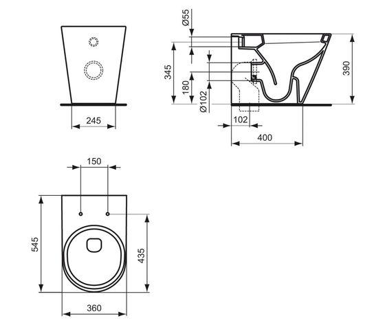 Tonic wc a pav scheda tecnica
