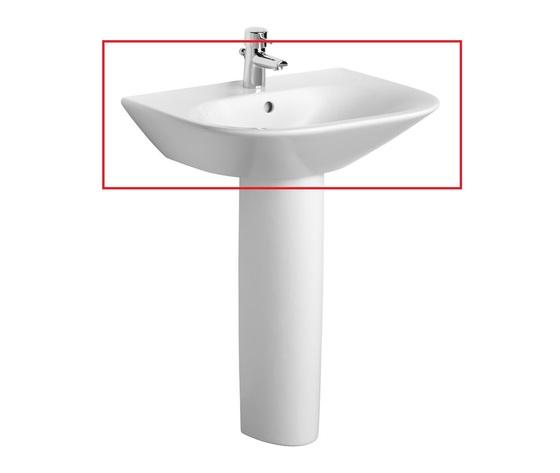 Tonic lavabo con colonna