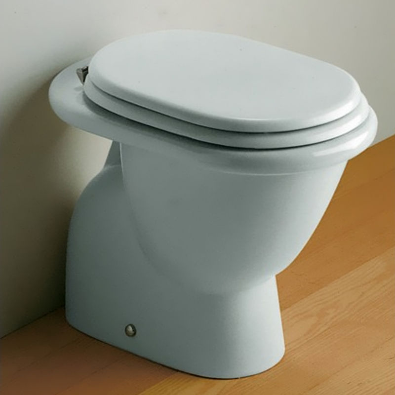 Sedile Fiorile Ideal Standard.Wc Fiorile Ideal Standard Bianco Europeo Senza Sedile Bagno