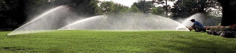 Giardino irrigato