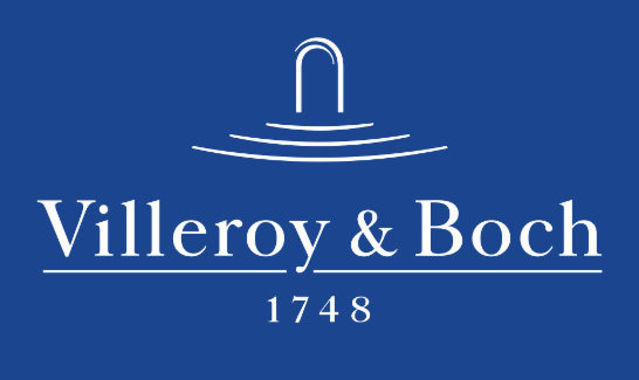 Logo su sfondo blu piccolo