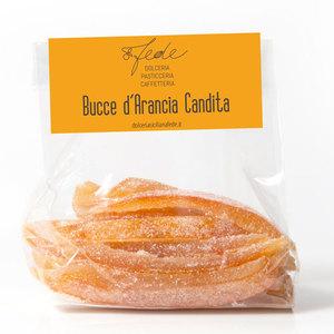 Filetti di buccia di arancia candita