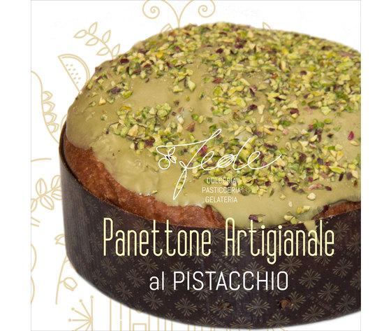 Panettoni artigianale al pistacchio fede