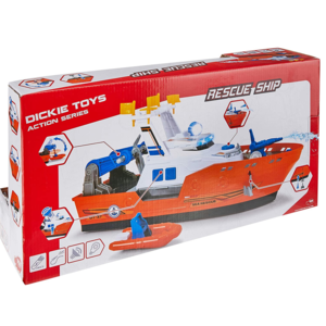 Simba Dickie Action Series Barca Harbour Rescue Cm 33
