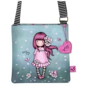 gorjuss santoro tracolla sparkle e bloom cherry blossom