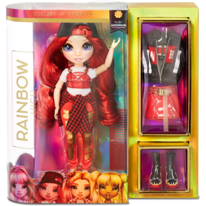 rainbow high collect fashion ruby anderson