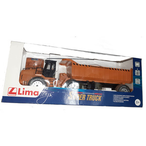 camion trasporto terra lima radiocomandato