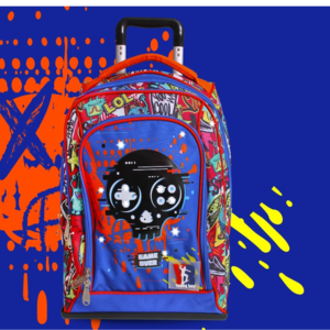 poolover trolley scuola skull