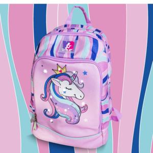 pool over zaino scuola unicorno rosa