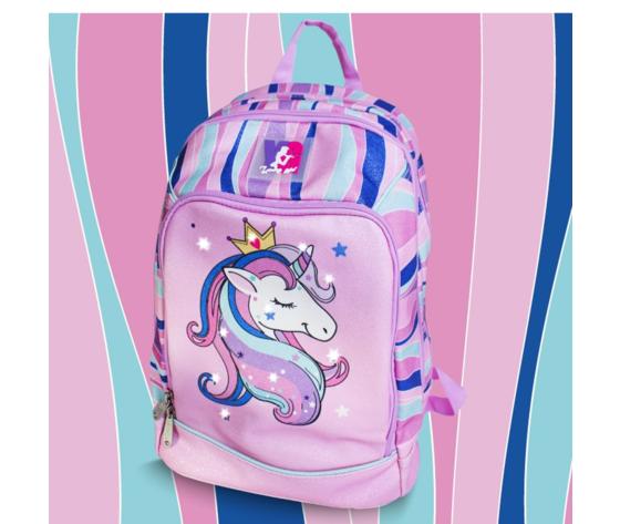 Zaino unicorno rosa