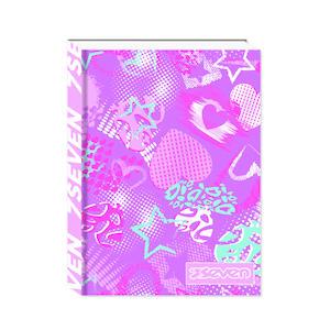 diario scolastico seven standard paper covers-5 girl