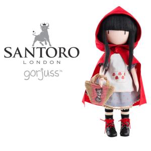 bambola santoro gorjuss cappuccetto rosso