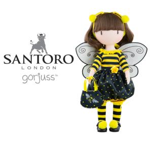 bambola santoro gorjuss bee loved