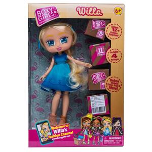 boxy girl willa rocco giocattoli