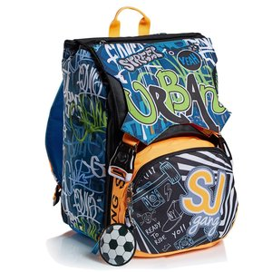zaino seven sj school pack city explorer (zaino+astuccio 3 zip)