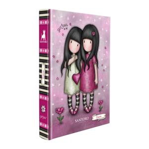gorjuss santoro diario scuola sweet blossom