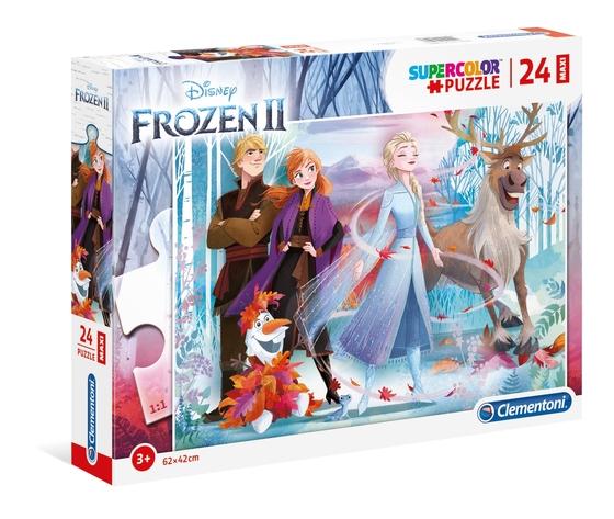 Disney frozen 2 24 pezzi supercolor puzzle