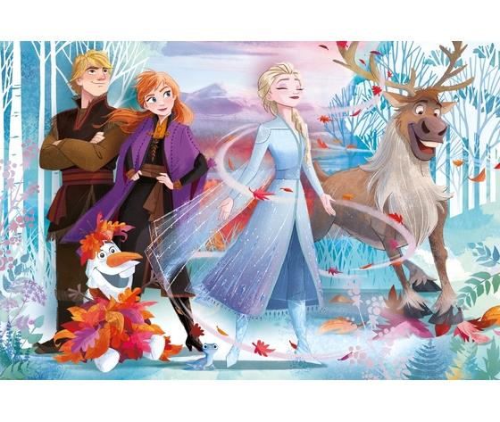 Disney frozen 2 24 pezzi supercolor puzzle 76mkztc