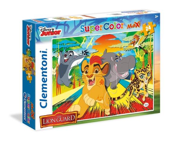 Disney lion guard 24 pezzi supercolor puzzle jfnjbxb