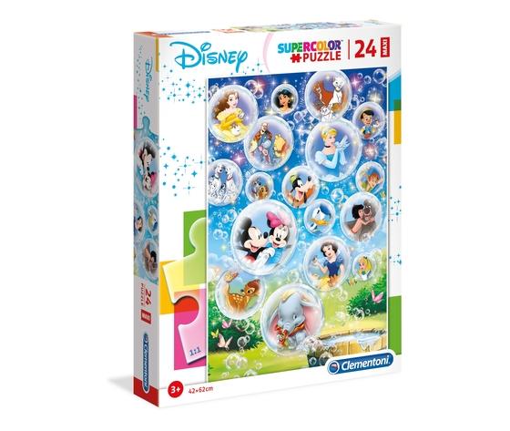 Disney classic 24 pezzi supercolor puzzle kkdwjlb