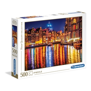 puzzle 500 pezzi amsterdam high quality collection
