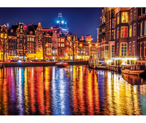 Amsterdam 500 pezzi high quality collection wahupe3