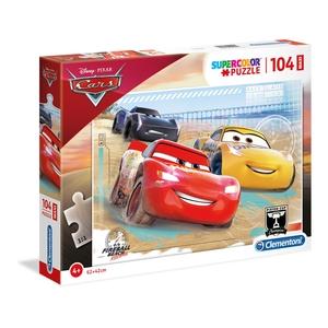 puzzle 104 pezzi disney cars