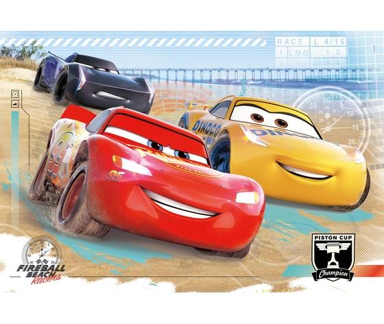 Disney cars 104 pezzi supercolor puzzle jn2vodn
