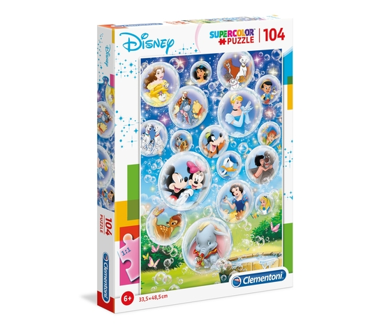 Disney classic 104 pezzi supercolor puzzle efpxnrv