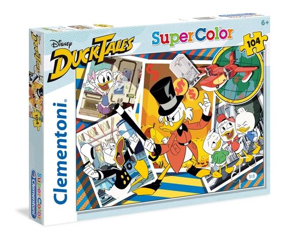 Disney duck tales 104 pezzi supercolor puzzle 6gu0665