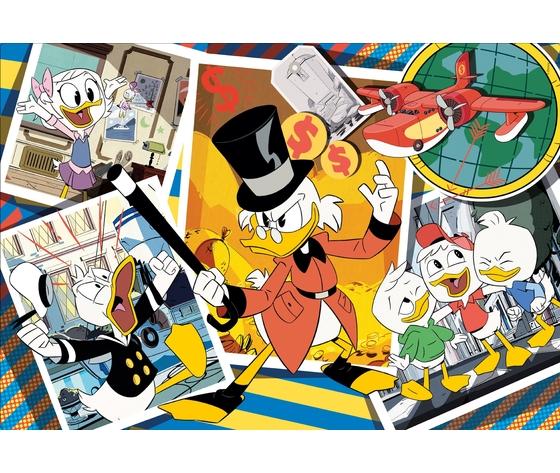 Disney duck tales 104 pezzi supercolor puzzle fgmf6jm