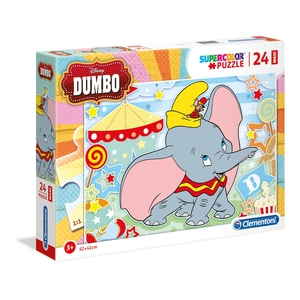 puzzle 24 pezzi Disney Dumbo