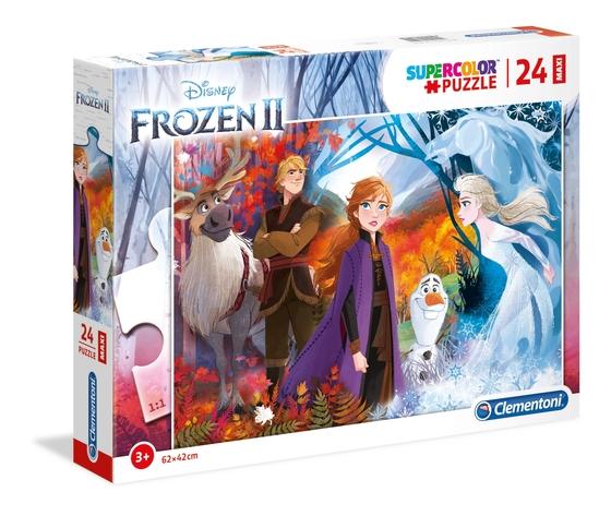 Disney frozen 2 24 pezzi supercolor puzzle xutdyjj