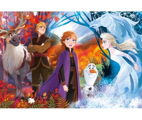 Disney frozen 2 24 pezzi supercolor puzzle qug2mke