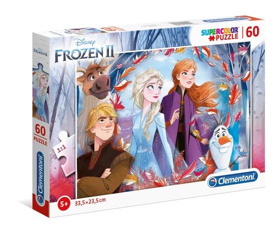 Disney frozen 2 60 pezzi supercolor puzzle